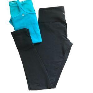 Lululemon athletica black leggings 4 XS